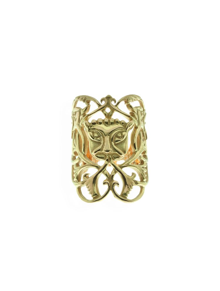 Anna Avakian yellow gold ring