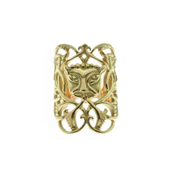 Anna Avakian yellow gold ring